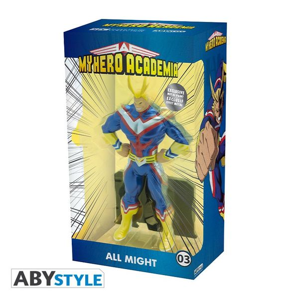 All Might Metal Foil ABYstyle Figure My Hero Academia