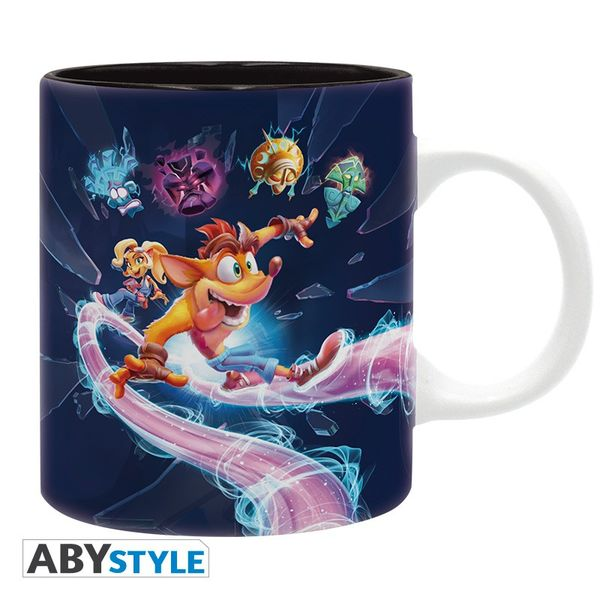Taza It's About Time Crash Bandicoot 4