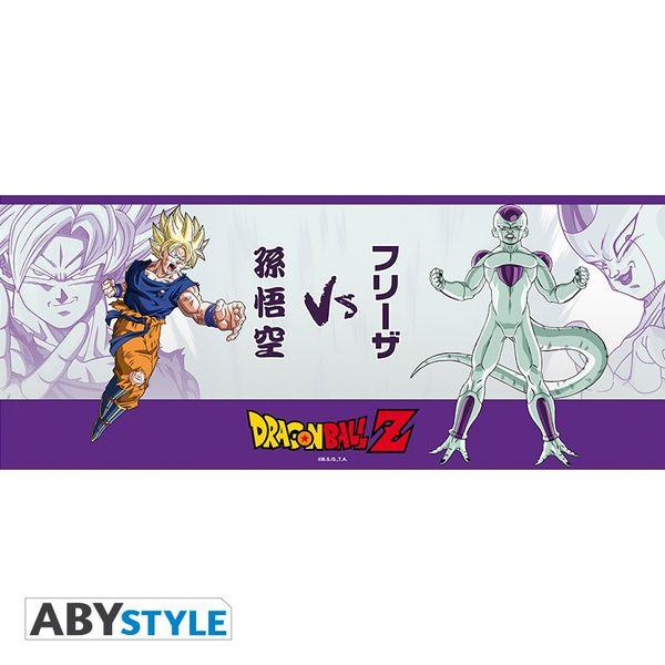 Taza con posavasos Freezer vs Goku  Dragon Ball Z 460 ml