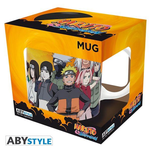 Taza Ninjas Konoha Naruto Shippuden 320 ml