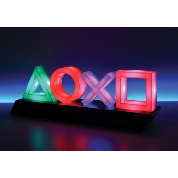 Lámpara LED botonera PlayStation