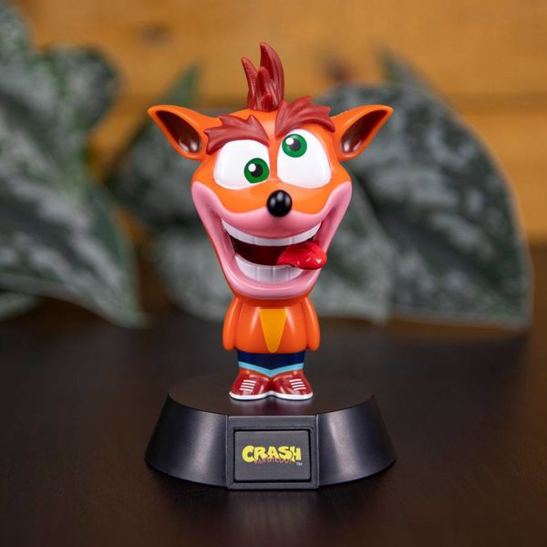 Lámpara 3D Crash Bandicoot