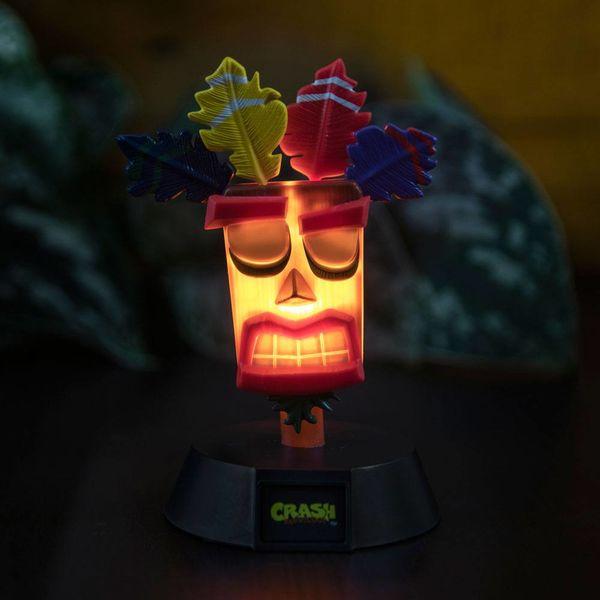 Lámpara 3D Aku Aku Crash Bandicoot