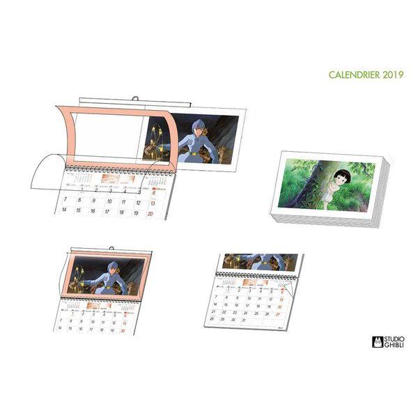 Calendario 2019 Studio Ghibli *Edición Francesa*