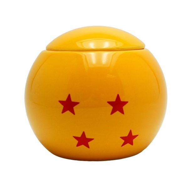 Taza 3D Bola de Dragón 4 Estrellas Dragon Ball Z