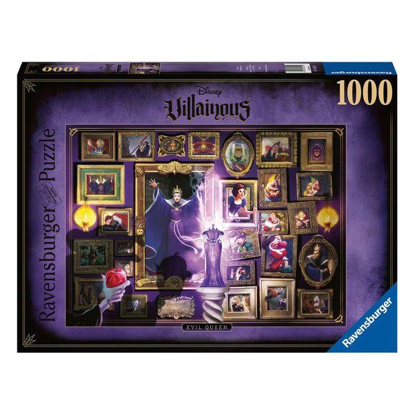 Puzzle Reina Malvada Blancanieves Disney Villainous 1000 Piezas