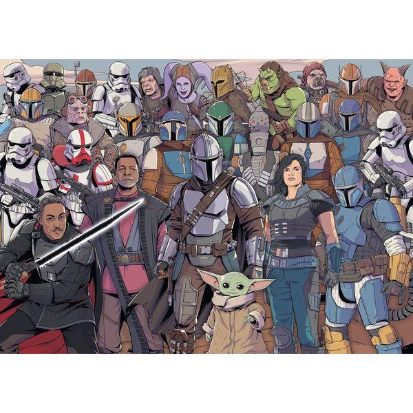 Puzzle 1000 Piezas Grupo Star Wars The Mandalorian Challenge