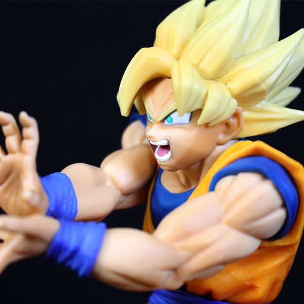 Figura Son Goku SS The Android Battle Dragon Ball FighterZ