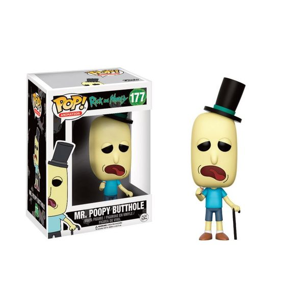 Funko Mr. Poopy Butthole Rick Y Morty PoP!