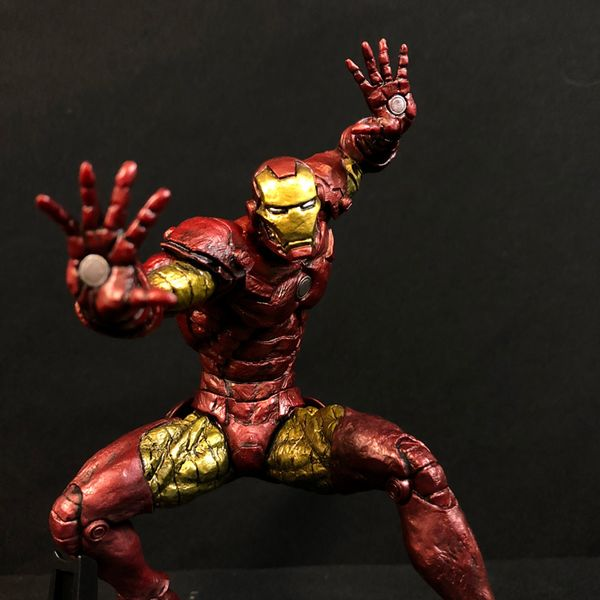 Figura Iron Man Choujin Giga Marvel Comics