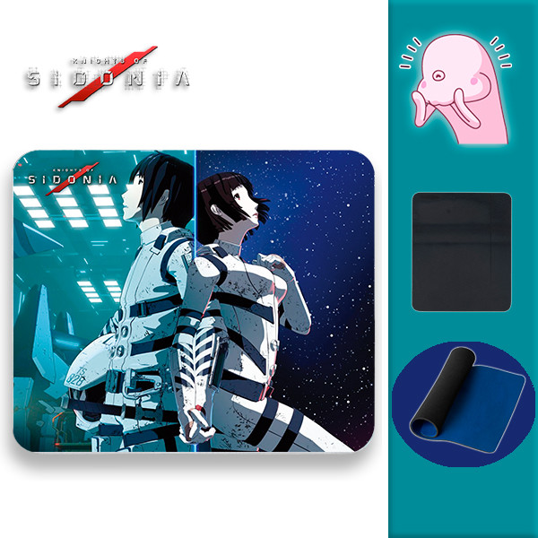 Alfombrilla Knights of Sidonia - Backs