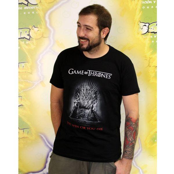 Camiseta You Win Or You Die Juego De Tronos