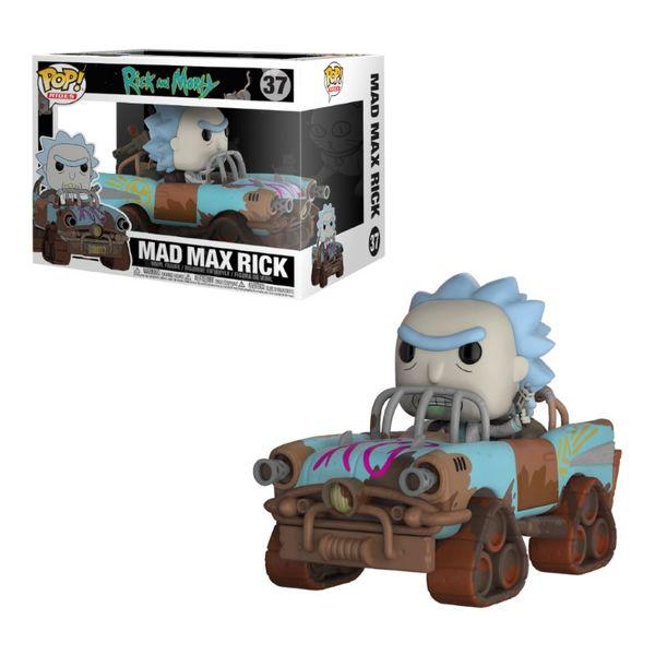 Funko Mad Max Rick - Rick y Morty  POP!