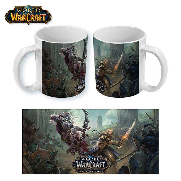 Taza World of Warcraft Battle of Azeroth