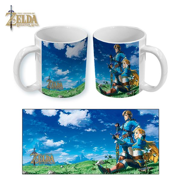 Mug The Legend of Zelda Breath of the Wild Anniversary