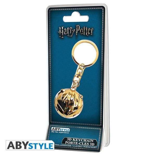 Llavero Snitch Dorada Harry Potter