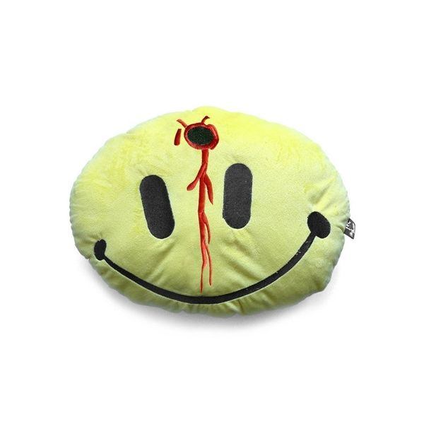 Emoticon Smiley Headshot Cushion