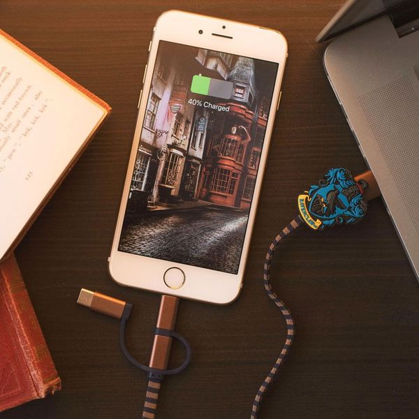 Ravenclaw Scarf Charging Cable Harry Potter 3in1