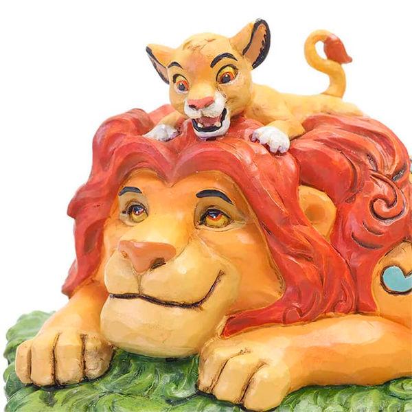 Figura El Rey Leon A Fathers Pride Jim Shore Disney Traditions