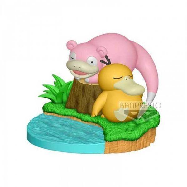 Figura Psyduck y Slowpoke Pokemon