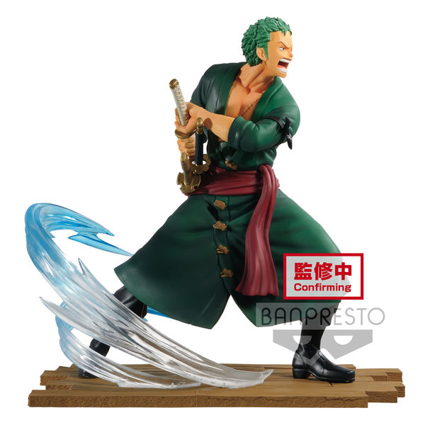 Roronoa Zoro Figure One Piece Log File Selection Fight Vol 1