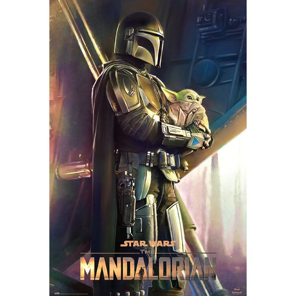 Poster Star Wars The Mandalorian Clan of Two