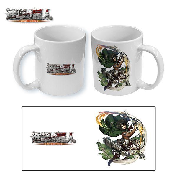 Taza Ataque a los Titanes Mikasa Attack