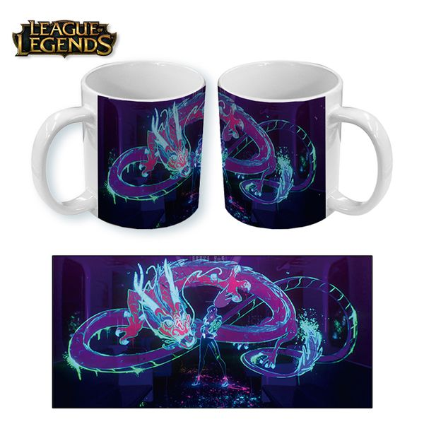 Taza League of Legends KDA Akali Dragon
