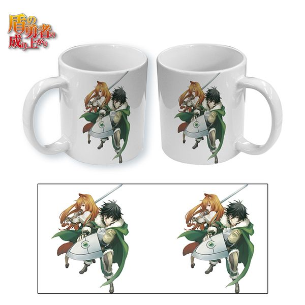 Taza The Rising of the Shield Hero Shield Hero & his Sword