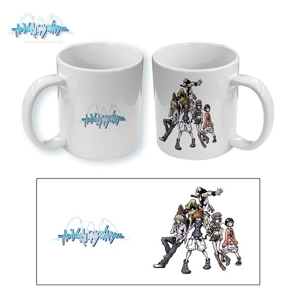 Taza The World Ends With You Group 03