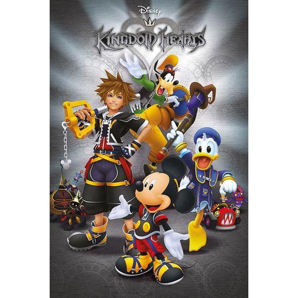 Poster Kingdom Hearts Classic 91,5 x 61 cms