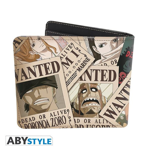 Wanted Luffy One Piece wallet