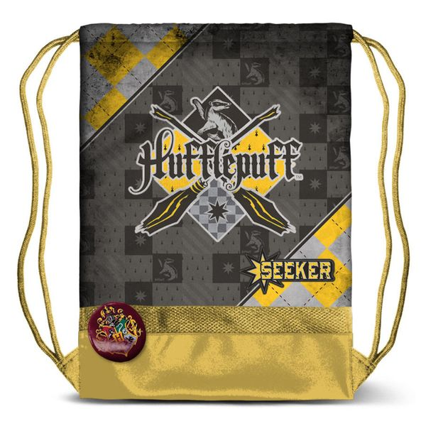 Hufflepuff Quidditch Sackpack Harry Potter