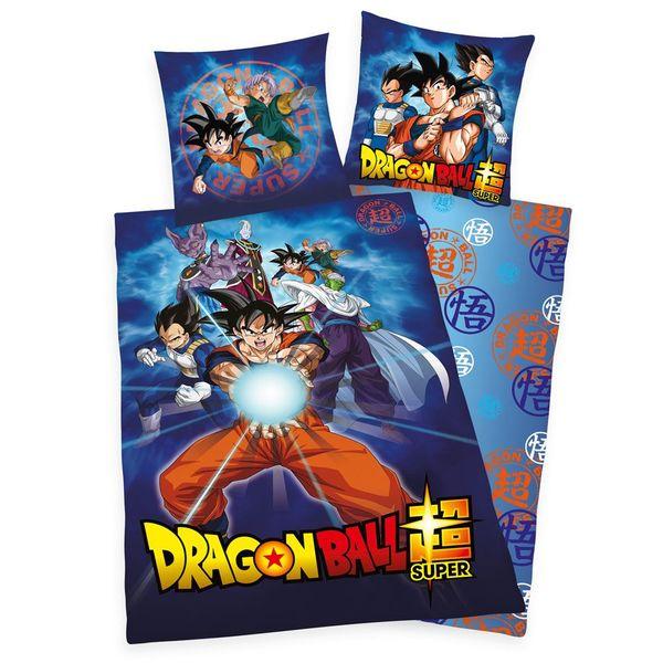 Dragon Ball Super Reversible Duvet Set Characters
