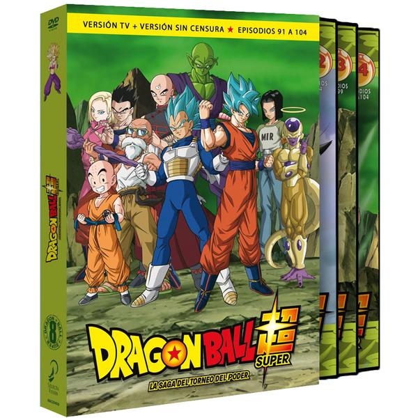 Dragon Ball Super Box 8 Episodios 91-104 DVD