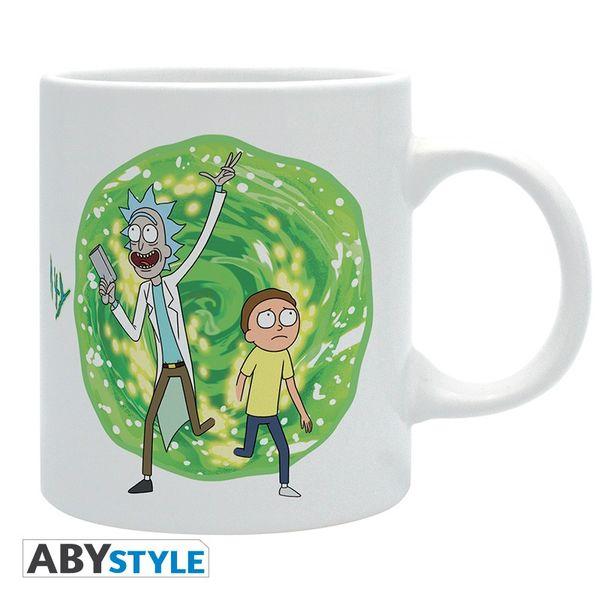 Taza Rick y Morty Portal