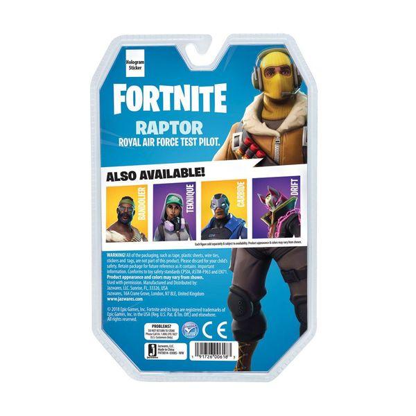 Figura Raptor Solo Mode Fortnite