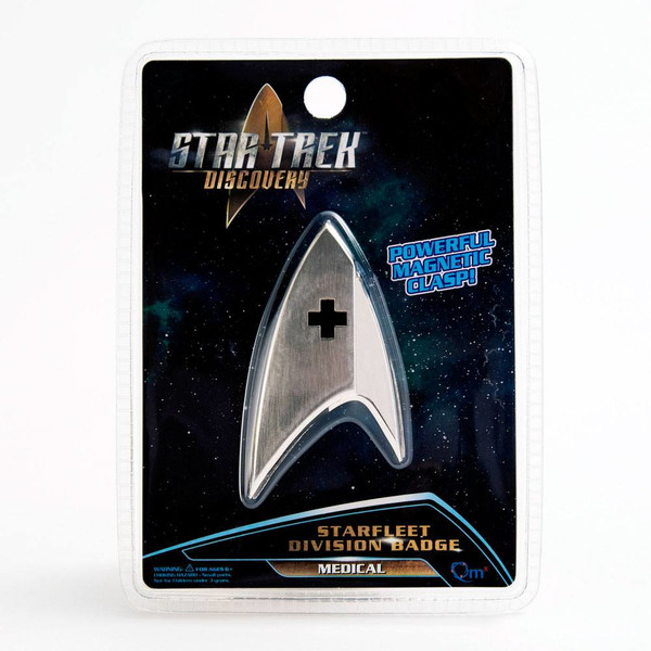 Broche Emblema Enterprise Médico de Flota Star Trek