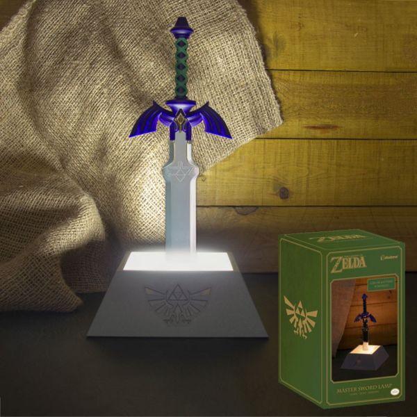 Lámpara 3D Espada Maestra The Legend Of Zelda
