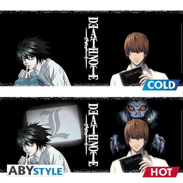 Taza Térmica Kira & L Death Note