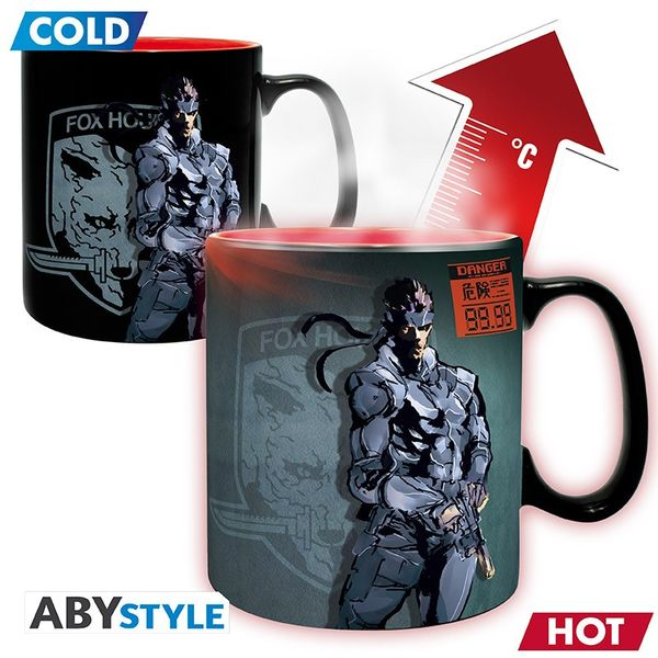 Taza Térmica Metal Gear Solid 460 ml