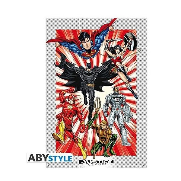 DC Comics Justice League Poster 91.5 x 61 cms