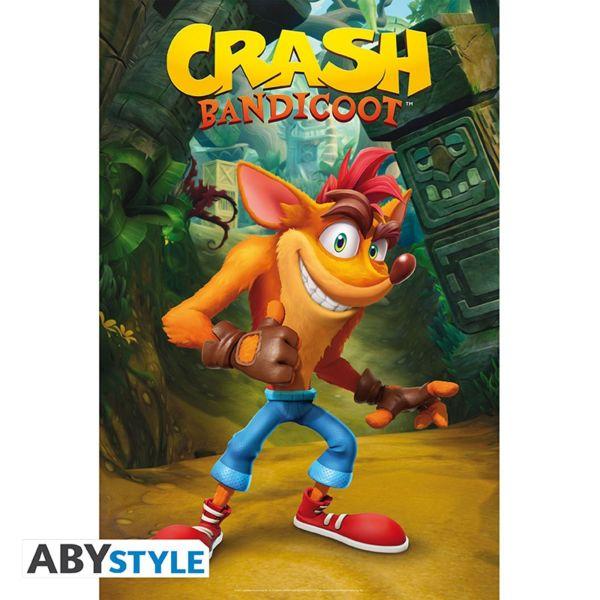 Classic Crash Poster Crash Bandicoot 91.5 x 61 cms