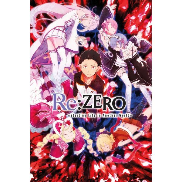Poster Key Art Re: Zero  61 x 91 cm