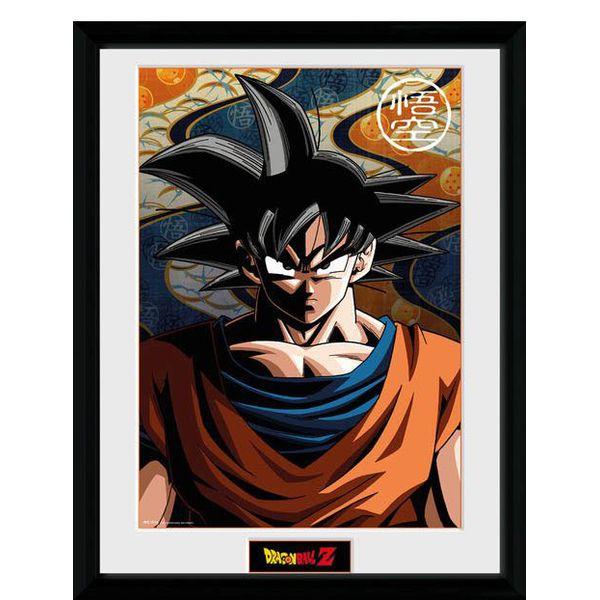 Poster Enmarcado Son Goku Base Dragon Ball Z 45 x 34 cm