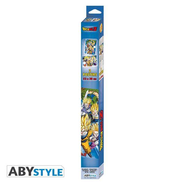 Poster Grupal Dragon Ball Z Set 52 x 35 cms