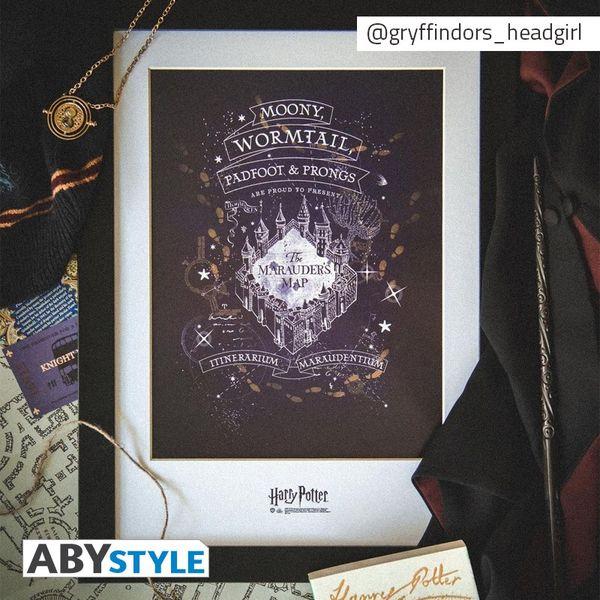 Poster Enmarcado Los Merodeadores Harry Potter