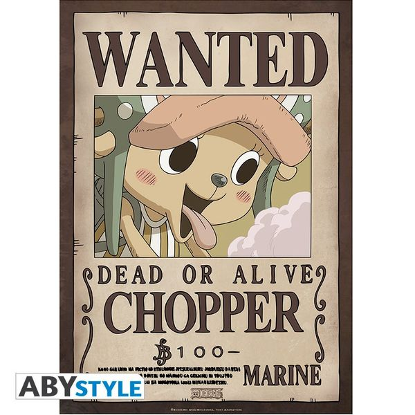 Posters Wanted Luffy's Crew Wano One Piece Set de 9