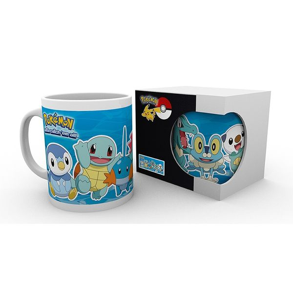 Taza Pokémon Tipo de Agua Pokémon 320 ml