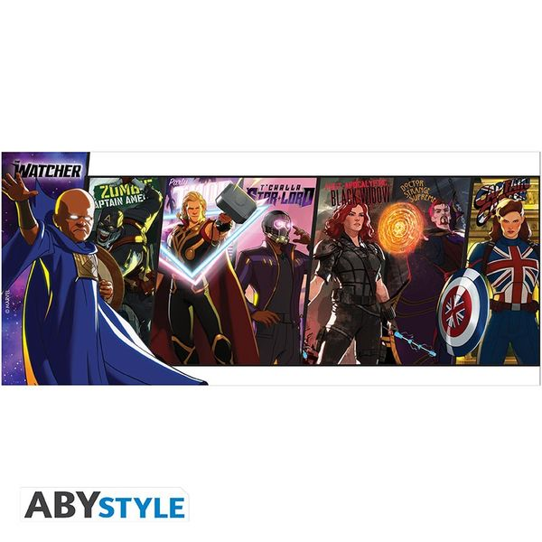Taza Heroes What If Marvel Comics 320 ml